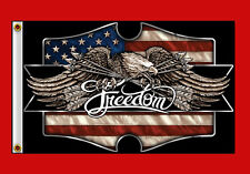 FREEDOM EAGLE 2ND Amendment HOMELAND PATRIOTIC  FLAG (3' X 5')  FLAG