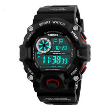 Sports Men Woman LED Digital Waterproof Army Military Wristwatch Watch