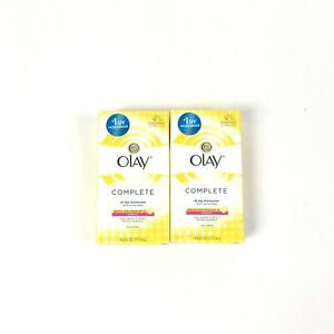2 Olay Complete All Day Moisturizer Combination/Oily Sunscreen SPF 15 03/2019