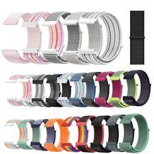 20mm Nylon Loop Sport Strap Band for Samsung Galaxy Watch 42mm Gear S2 Classic