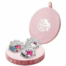 NIUE HELLO KITTY SANRIO 3x 2 DOLLAR 2010 PLATA PROOF ESTUCHE