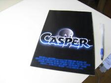 CASPER Japanese Movie Flyer 1995 Bill Pullman Christina Ricci Cathy Moriarty