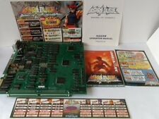 Asura Blade Sword of Dynasty Jamma Arcade Pcb system B Board and Instr set -A-