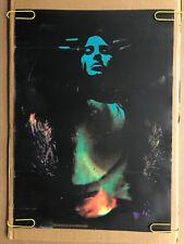 Original Vintage Blacklight Poster Rebirth Woman Psychedelic 1970's Day Glow