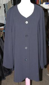 M&S 3/4 Length Dress Jacket Long Sleeve Coat Size See Measurements
