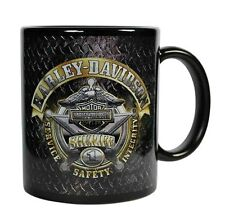 NEW Harley-Davidson® #1 Sheriff Badge Eagle Bar & Shield Coffee Mug Cup CM126477