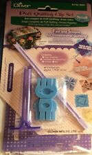 Clover Puff Quilting Clip Set. Small. 8400