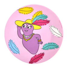 "Barbabelle Feather Boa-Barbapapa Mélamine Dessert Plaque 20 cm/8"" diamètre"