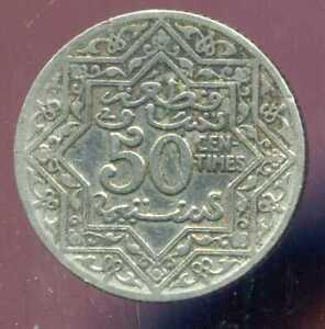 MAROC 50  centimes 1921