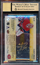 2014-15 UPPER DECK ICE GLACIAL GRAPHS GOLD CAREY PRICE BGS 9.5 10 AUTO