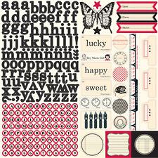 Jenni Bowlin Echo Park 12X12 Sticker Sheet