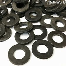 100Pc ASSORTED BLACK RUBBER FORM A NEOPRENE WASHERS THICK WASHER SIZE M2 TO M20