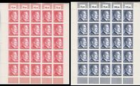 Stamp Germany Mi 801-2 Sc 506-7 Sheet 1941 WWII 3rd Reich War Era Hitler MNH