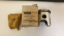 GENUINE YAMAHA DT50/RD50/TY50 PISTON, RINGS AND GUDGEON PIN +.75 3RD OVERSIZE