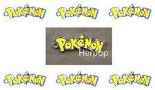 50pcs Pokemon anime Letter Metal Charms DIY Jewelry Making Pendants Earring g-02