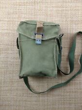 WWII MILITARY SUPPLY BELT SHOULDER POUCH BAG LIGHT II W&G LTD 7/1945 ENGLAND