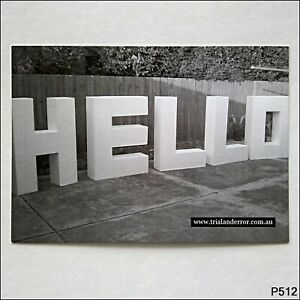 Trial and Error Graphic Design Advert Postcard (P512)