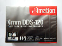 Imation DDS2/DDS-2 DAT Data Tape/Cartridge 4mm 4/8GB DDS-120 120m NEW