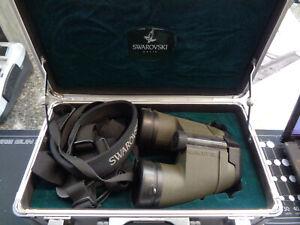 swarovski binoculars 7 x 42 Habicht SL with case/straps