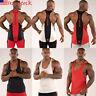 Gym Men Muscle Sleeveless Tank Top Tee t-Shirt Bodybuilding SportS Fitness Vest