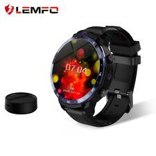 LEMFO LEM12 Pro 4G LTE Smart Watch 1.6inch 4+64GB GPS Tracker Android iOS Black