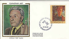 Canada FDC Sc # 887/889 3 Canadian  Art covers w/ Colorano cachet- WW7267