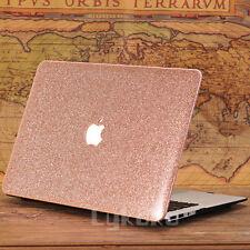 """Rose Quart/ Glitter Bling/ Wooden Ultra-Slim Case for MacBook Air Pro 11""""13"""" 15"""""""