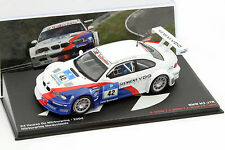 BMW M3 GTR #42 Winner 24h Nürburgring 2004 BMW Motorsport 1:43 Ixo Altaya