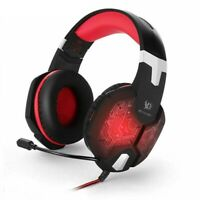 Pro Gaming Headset for Playstation PS4 - Mic & LED (Anthem /Far Cry) - Red