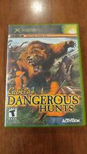 Cabela's Dangerous Hunts (Microsoft Xbox, 2003) GOOD COMPLETE! MAIL IT TOMORROW!
