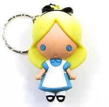 """Disney 3D Figural Keyring Series 3 ALICE IN WONDERLAND 3"""" KEYCHAIN Blind Bag"""