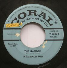 50'S & 60'S Promo 45 The Miracle Men - The Gander / The Goose On Coral Records