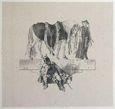 Adolph di Menzel-il cavallo del generale silenzio-legno chiave 1843-1849