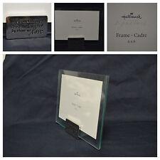 NIB Hallmark Signature Love Life Photo Frame Cadre Glass With Clip 4x6