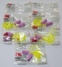 3m Nitro Ear Plugs 5 Pack Noise Reduction 32db Purple Regular Earsoft E A Rfit
