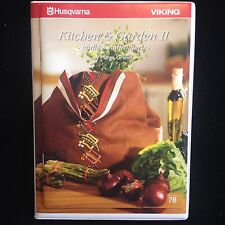 Husqvarna Viking Kitchen & Garden Embroidery Designs Multi-format CD #78