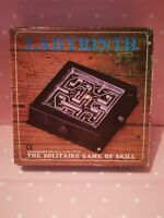 Labyrinth Solitaire Maze Game Of Skill retro gift idea stocking filler