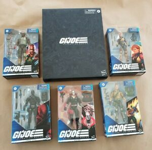 G.I.Joe Classified Deluxe Snake Eyes Scarlett Duke Roadbloack Destro Hasbro GI