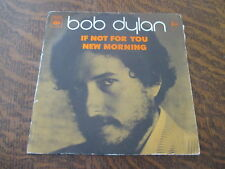 RARE 45 tours BOB DYLAN if not for you