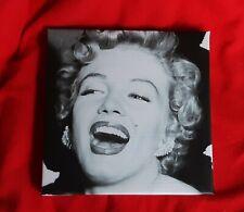 MARILYN MONROE image on vinyl over timber frame 26 x 26 x 3cm