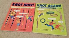 """Knot Now"" and ""Knot Again!  -Lanyard Instruction Books   Books only"