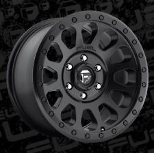 Fuel Vector 16x8 6x5.5 ET1 Matte Black Rims (Set of 4)