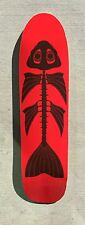 Old school Pool skateboard shape Graphic deal 7 ply Canadian maple RED FISH