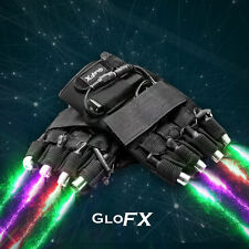Multi-Color Laser Gloves by GloFX - Red Blue Green Purple Lazers Fast USA Ship
