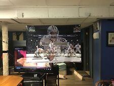 BIG NEW! 44x30 TROY AIKMAN vinyl Banner POSTER Dallas Cowboys Emmitt Smith Art.