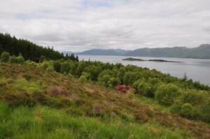 land plot for sale glencoe scotland uk fishing holiday boat camping