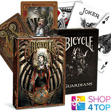 2 DECKS BICYCLE 1 GUARDIANS AND 1 ANNE STOKES STEAMPUNK PLAYING CARDS USA NEW
