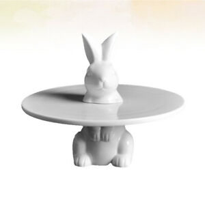 1pc Cake Stand Rabbit Cake Rack Plate Stand Tray Decor for Birthday Wedding