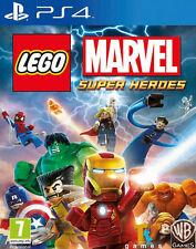 LEGO Marvel Super Heroes Game for Playstation 4 PS4 Kids Game