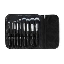 BH Cosmetics: Dual Fiber - 9 Piece Brush Set with Black Brush Roll
